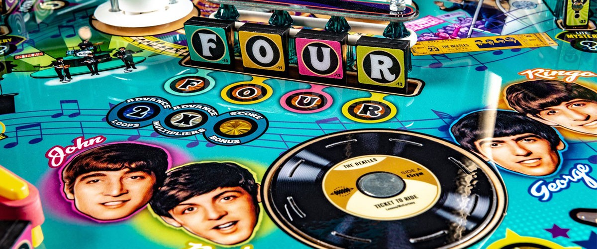 """All You need is Pinball!"" Beatles Beatlemania ist der nächste Stern Pinball"