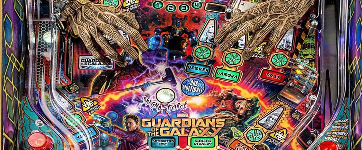 The Guardians of the Galaxy ist der nächste Stern Pinball 2017