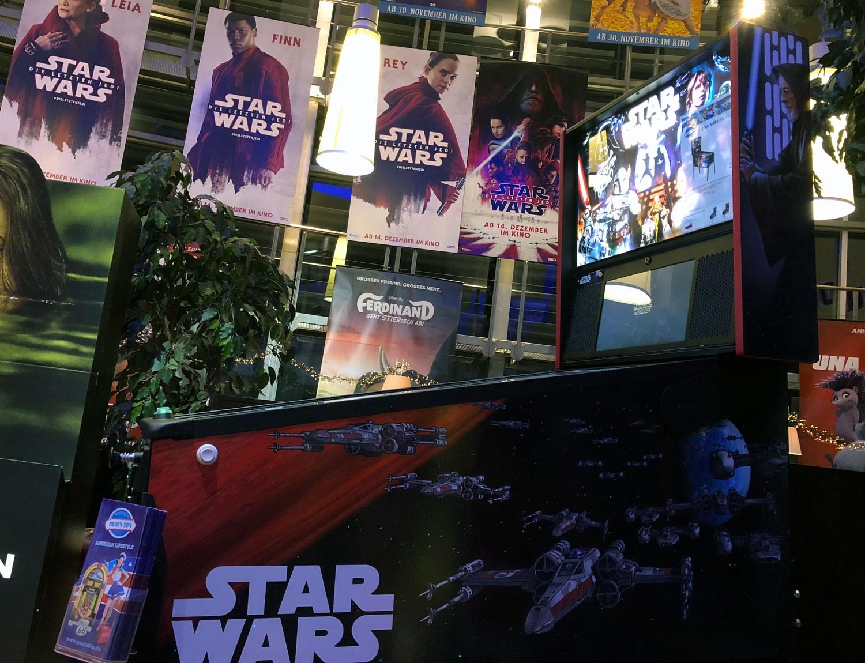 """Wenn der neue STAR WARS Film """"Die letzten Jedi"""" Premiere hat, darf ein Stern nicht fehlen"""