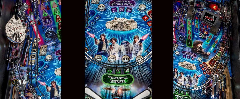 STAR WARS Flipperautomat weitere Info von Stern Pinball