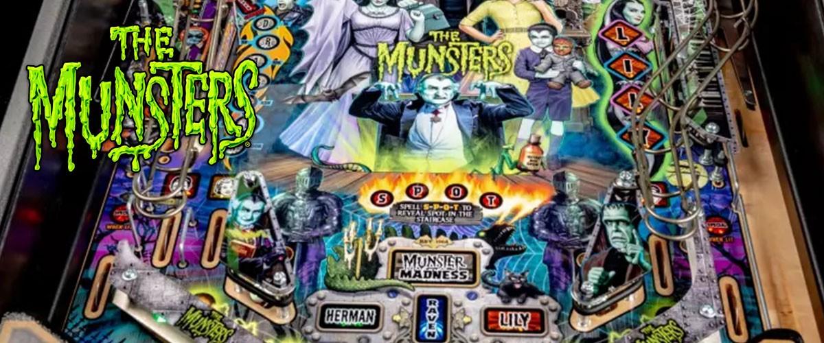 The Munsters ist der neue Flipperautomat von Stern Pinball 2019