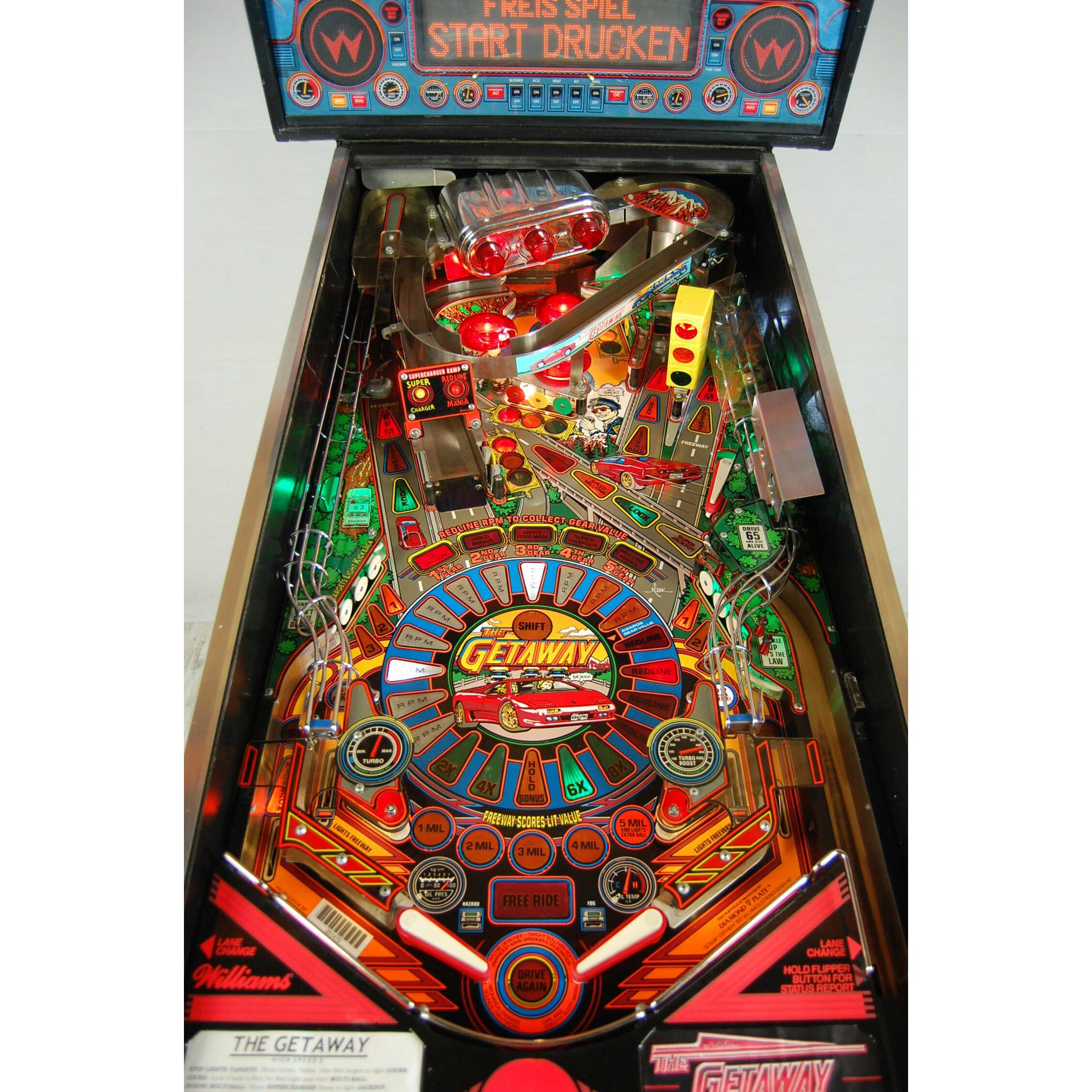 Pinball/Flipper The Getaway Online Kaufen! >
