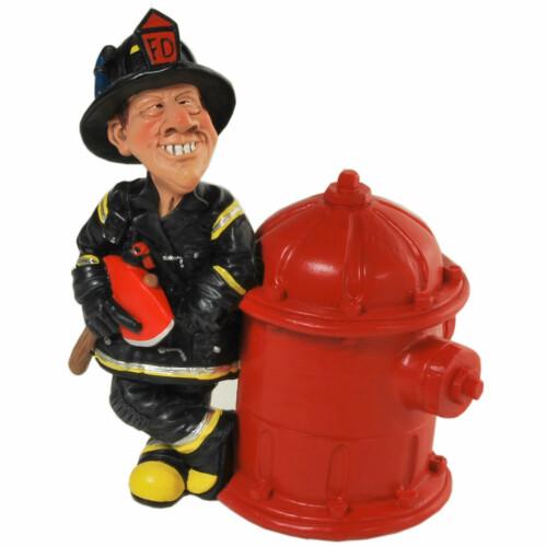 Spardose Feuerwehrmann Figur