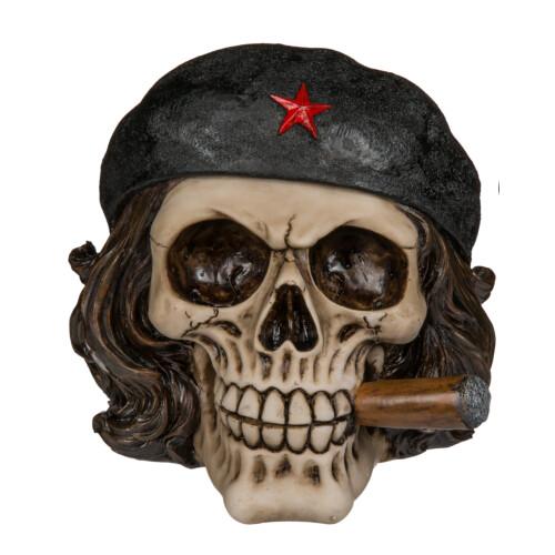 Spardose Totenkopf Figur Freiheitskämpfer