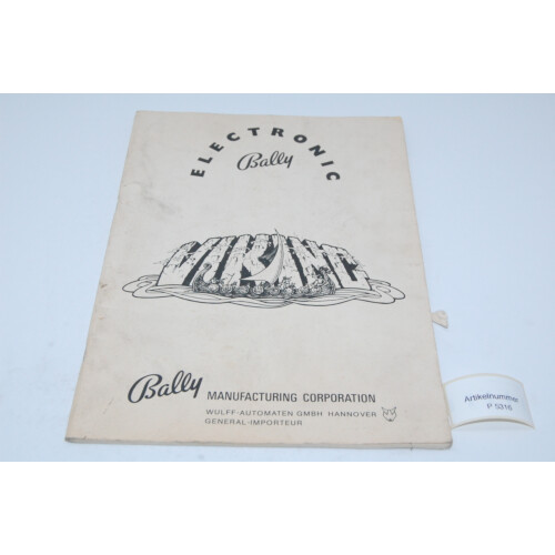 Bally Viking Flipper Manual