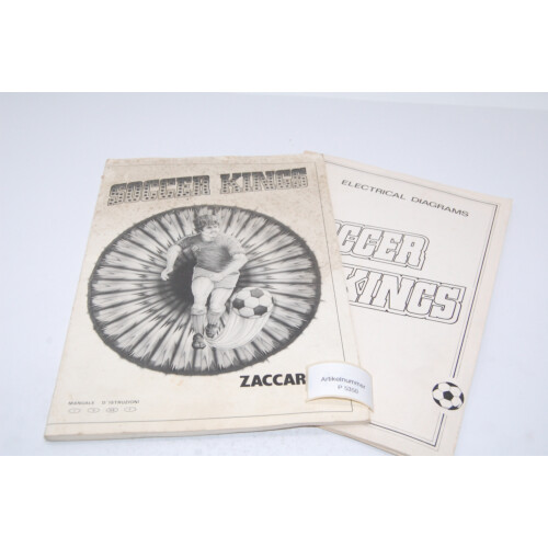 Zaccaria Soccer Kings Flipper Manual