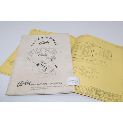 Bally Hot Doggin Flipper Manual