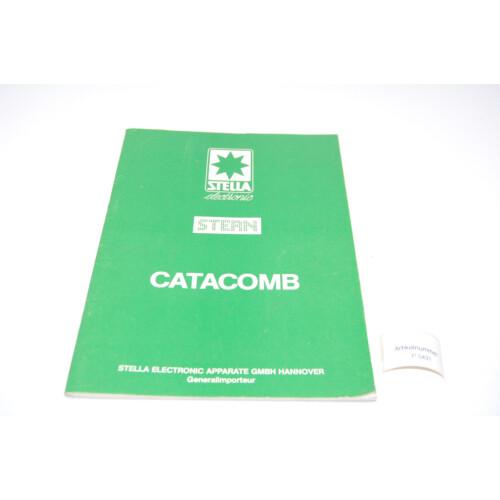 Stern Catacomb Flipper Manual