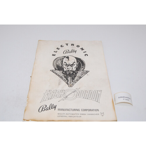 Bally Flash Gordon Flipper Manual