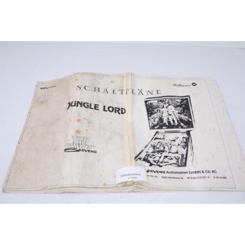 Williams Jungle Lord Flipper Manual