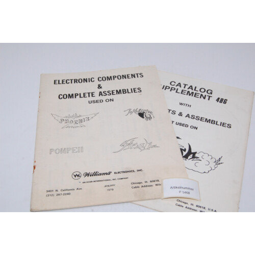 Williams 4 in 1 Electronics and Assembly Flipper Manual
