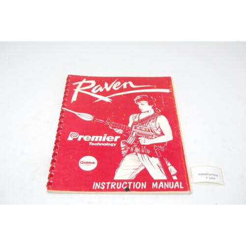 Gottlieb Raven Flipper Manual