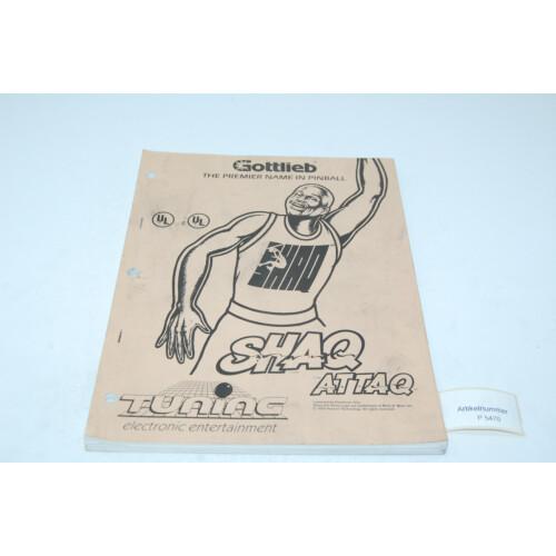 Gottlieb Shaq Attaq Flipper Manual