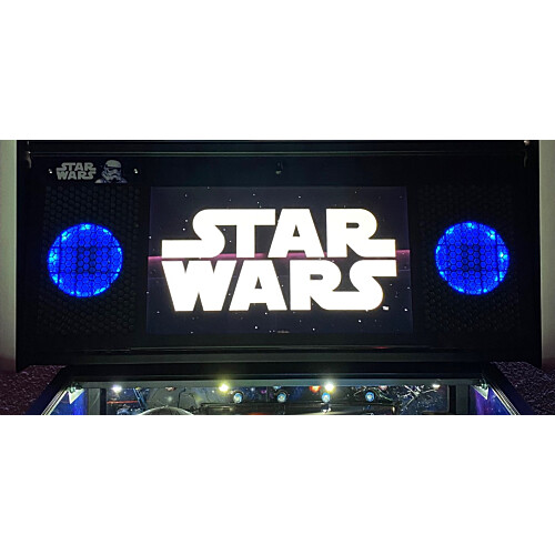 Lautsprecher Beleuchtung für Stern Pro und Premium Flipper Blau