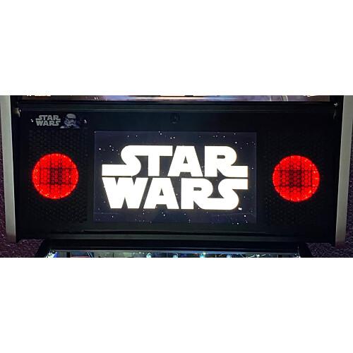 Lautsprecher Beleuchtung für Stern Pro und Premium Flipper Rot