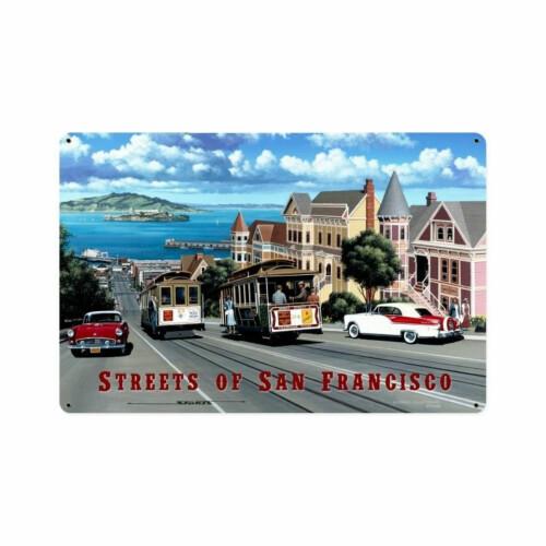 Blechschild San Francisco Streets S