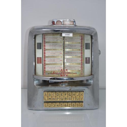 Seeburg Musikbox Fernwähler Modell 3WA